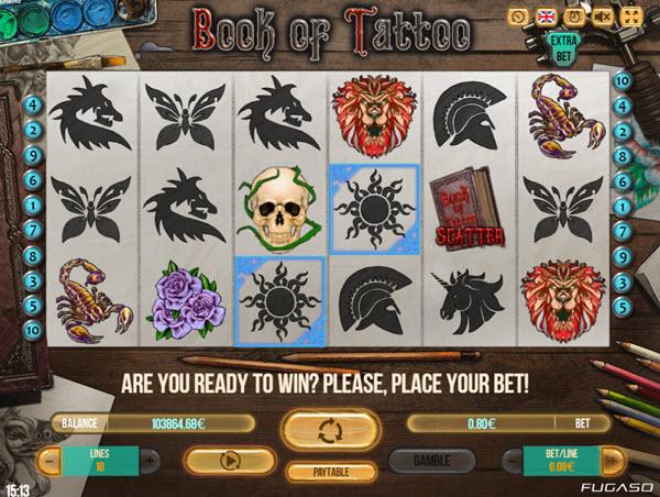 Book of Tattoo Slot