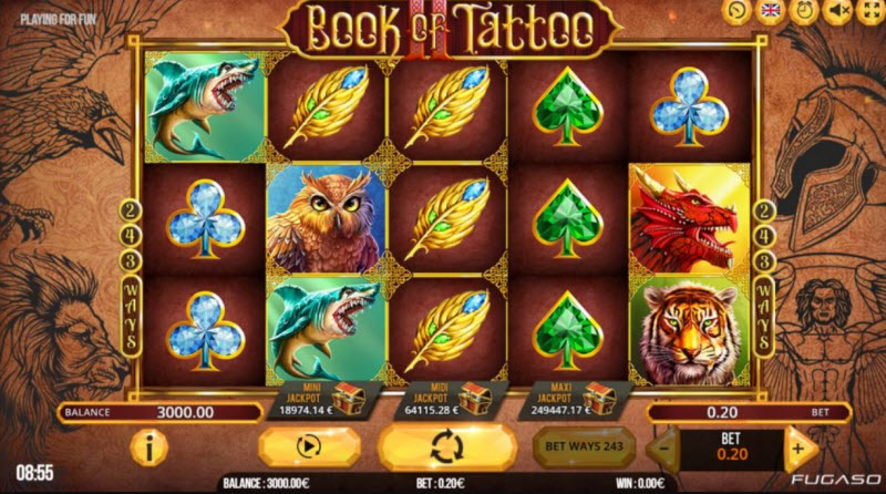 Book of Tattoo Slot
