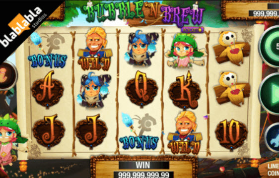 Bubble N Brew Slot