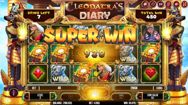 Cleopatra's Diary Slot