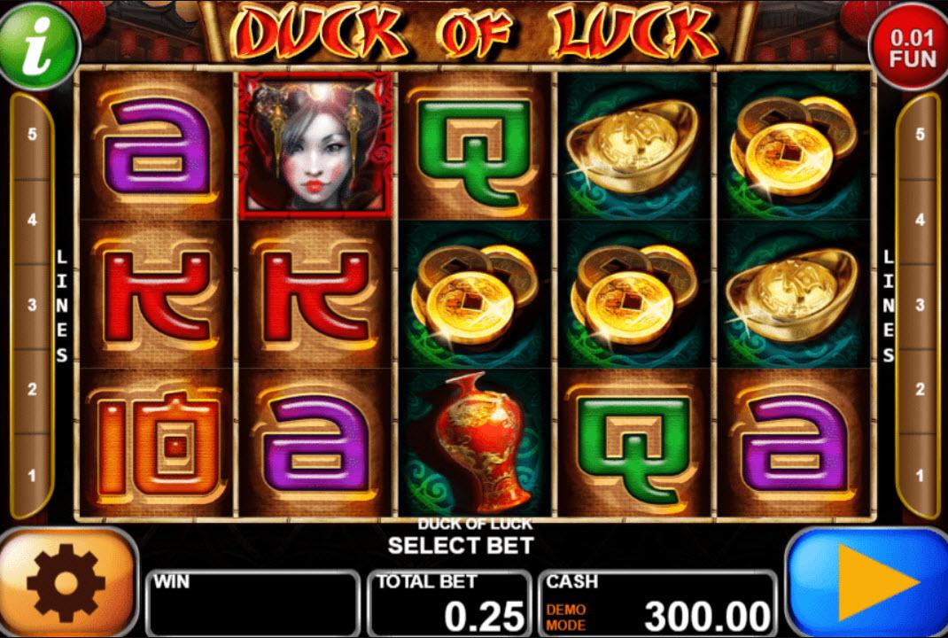 Duck Of Luck Slot Machine