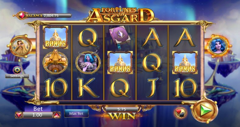 Fortunes of Asgard Slot Review