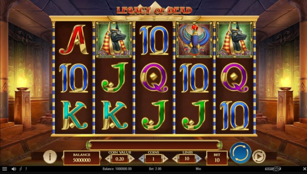 Legacy of Dead Video Slot