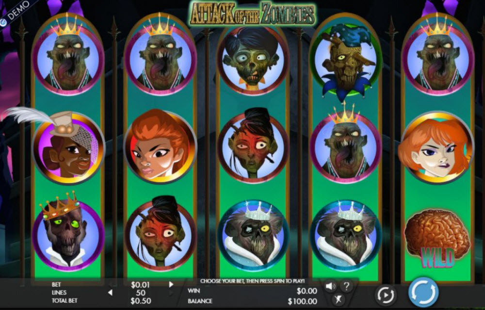 Zombies Slot Game