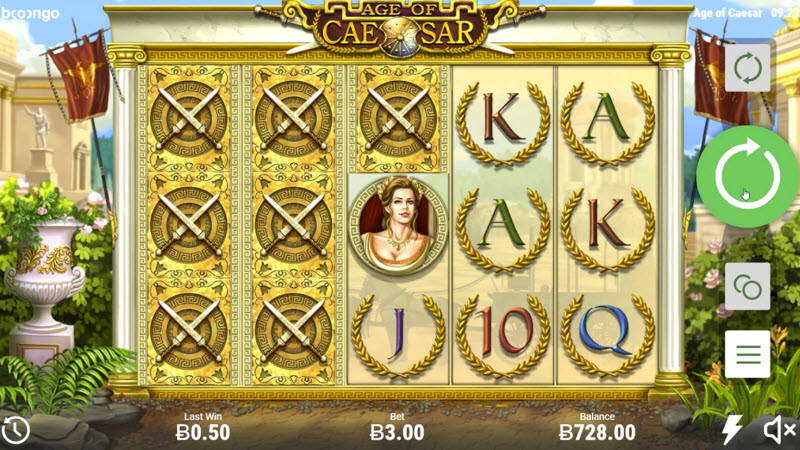 AGE OF CAESAR SLOT GAME