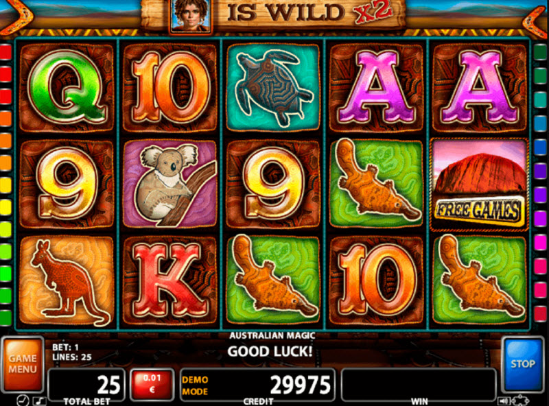 Australian Magic Slot Game