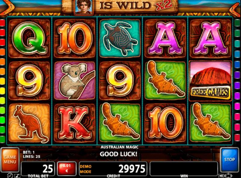 Australian Magic Slot Game