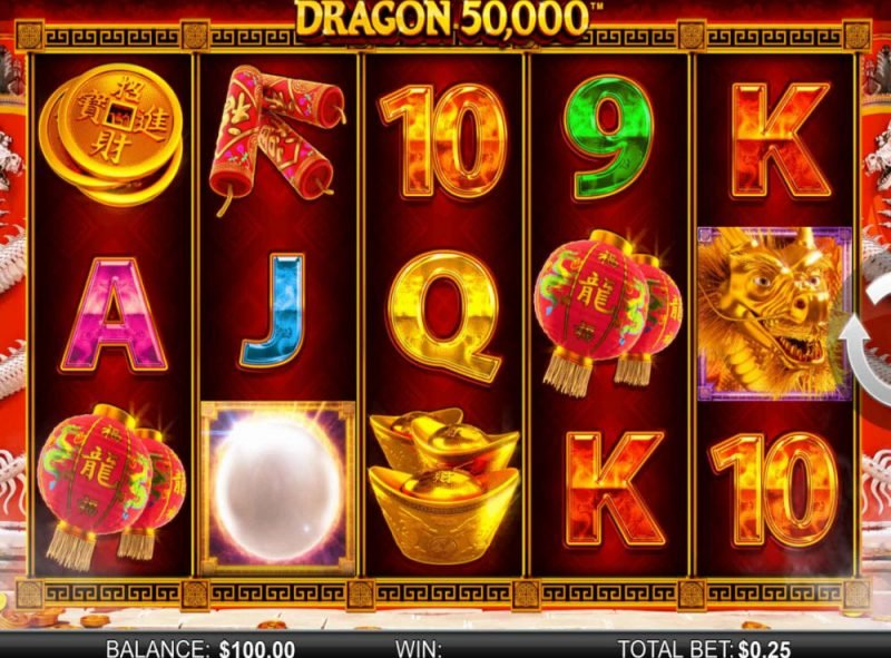 DRAGON 50000 SLOT