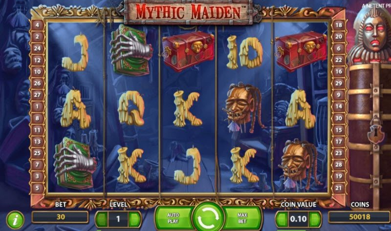 Mythic Maiden Slot