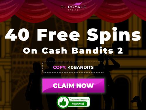 El Royale Casino No Deposit Bonus Codes Get 40 Free Spins