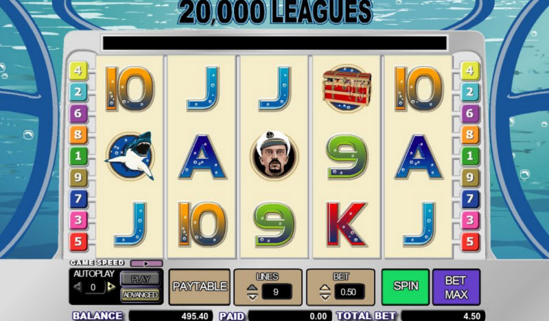 20,000 Leagues Slot