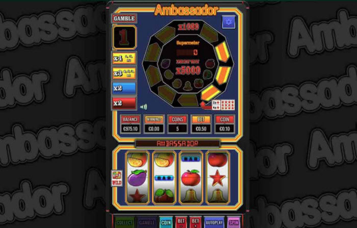 Ambassador Slot Machine