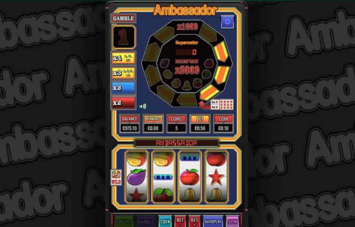 Ambassador Slot Machine