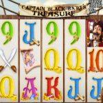 Captain Black Bart's Treasure Slot