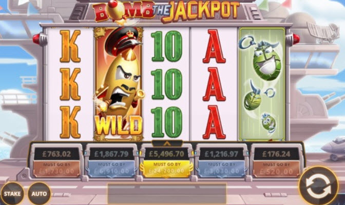 Destructive Bomb the Jackpot Slots