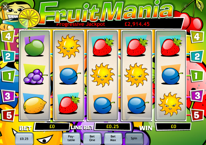 Fruity Mania Slot Game