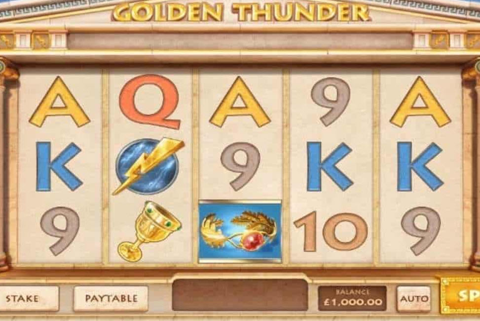 Golden Thunder Slot Machine