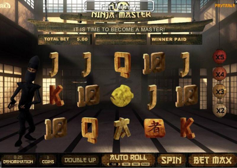Ninja Master Slots