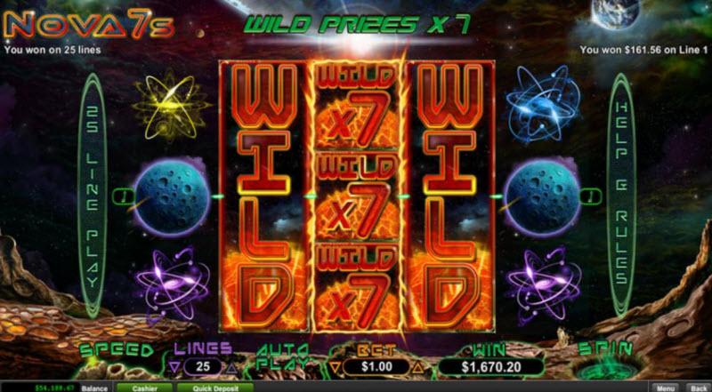 Nova 7's Slot