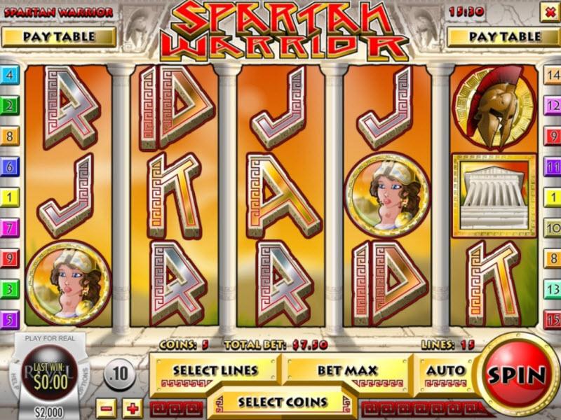 Spartan Warrior Slot
