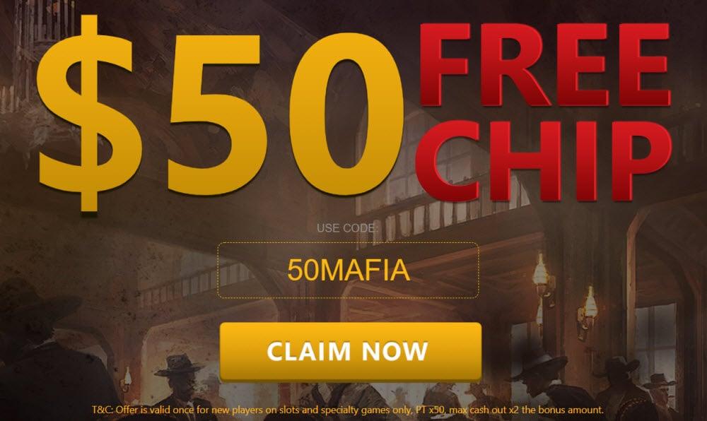 Domgame Casino No Deposit Bonus 50 Free Chips