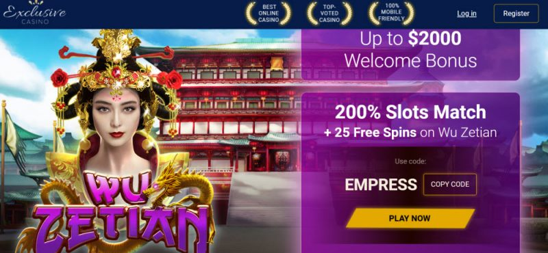 Exclusive online casino