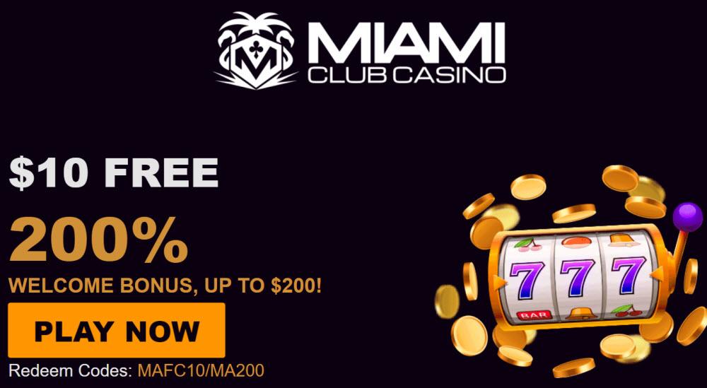 No Deposit Bonus For Miami Club Casino