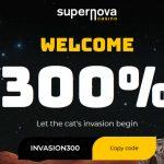 SuperNova Casino Welcome Bonus