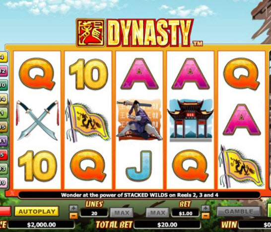 Dynasty Slot Review