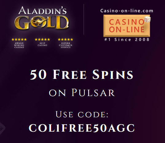Aladdins Gold Casino No Deposit Bonus Codes 2020 50 Free Spins