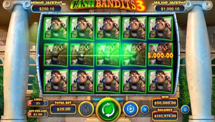 Cash Bandits Slots