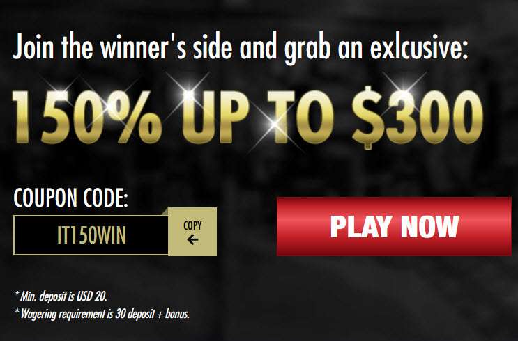 Intertops Casino No Deposit Bonus Codes