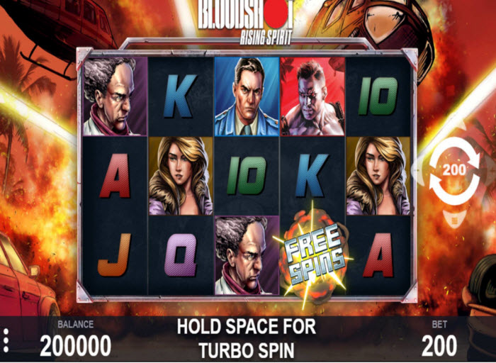 Bloodshot Slot