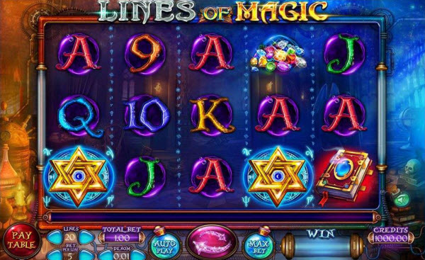 Lines of Magic Slot