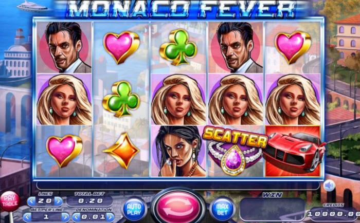 Monaco Fever Slot