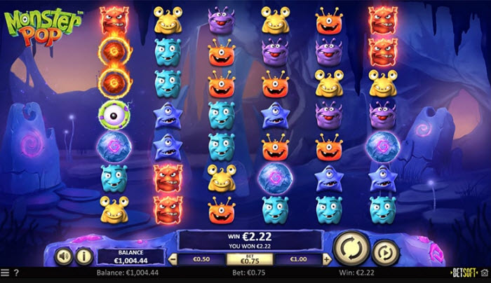 Monster Pop Slot Machine