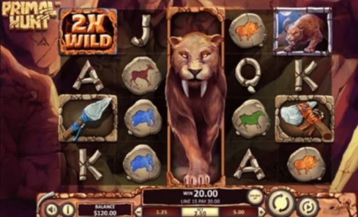 Primal Hunt Slot Review