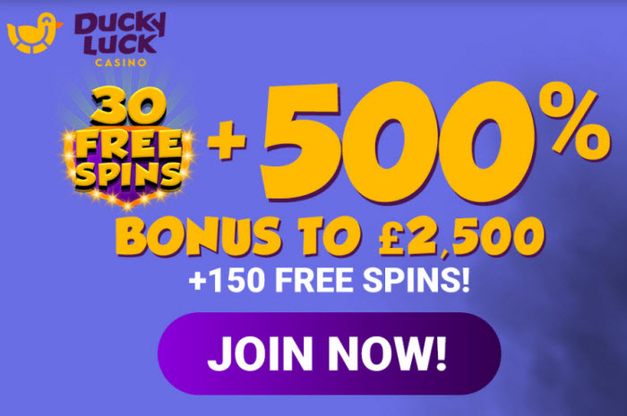 Ducky Luck Casino no deposit bonus