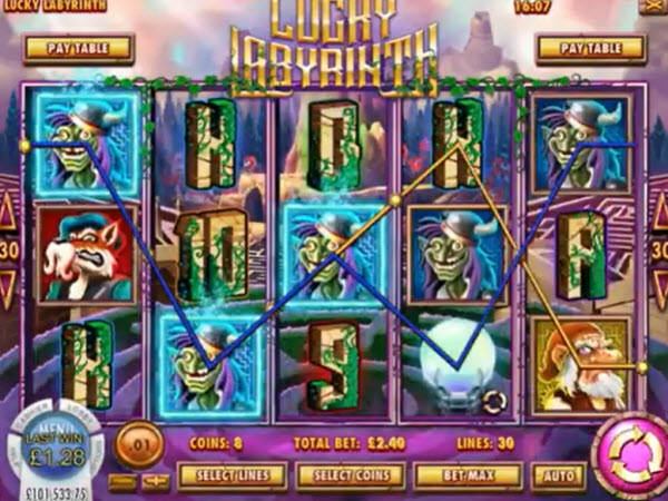 Lucky Labyrinth Slot