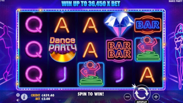 Dance Party Slot Machine