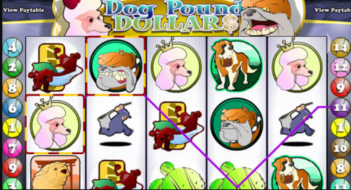Dog Pound Dollars Slot