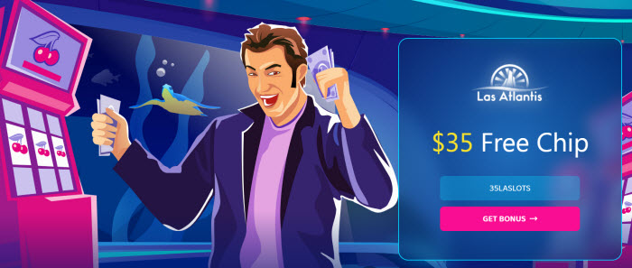 Las Atlantis Casino no deposit bonus codes