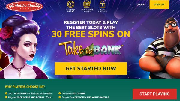 Malibu Club online casino canada