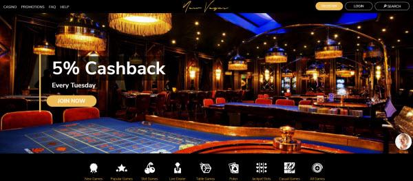 New Vegas Online Casino