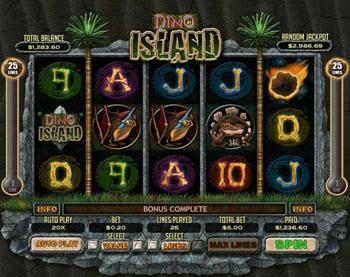 Dino Island Slot
