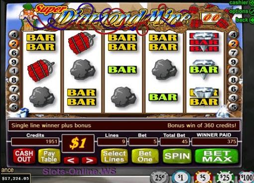 Super Diamond Mine Slots