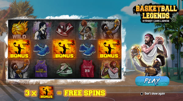 Basketball Legends Slot