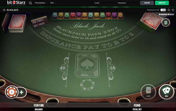 Bitcoin Blackjack Casino