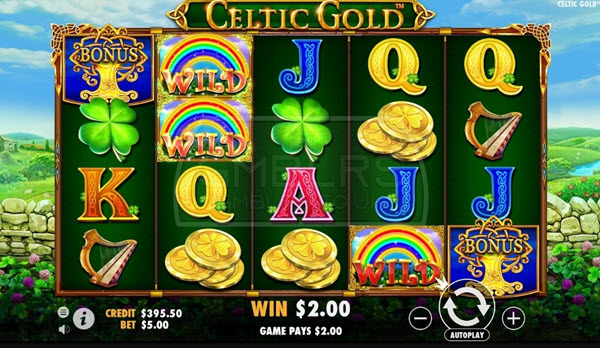 Celtic Gold Slot Machine