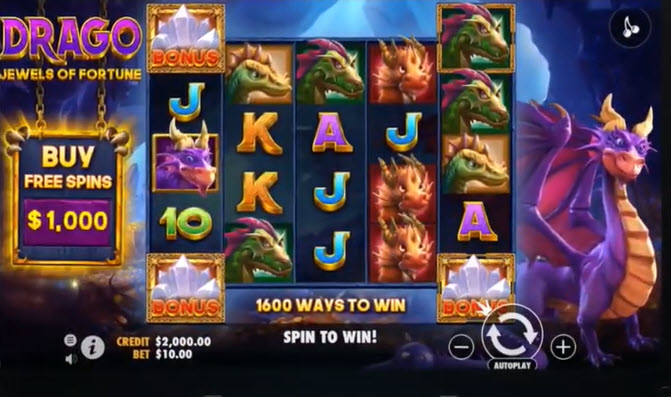 Jewels of Fortune Slot